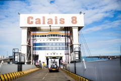 Départ Calais pour Douvres
